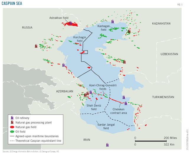 Turkmenistan positions itself as Eurasian natural gas power
