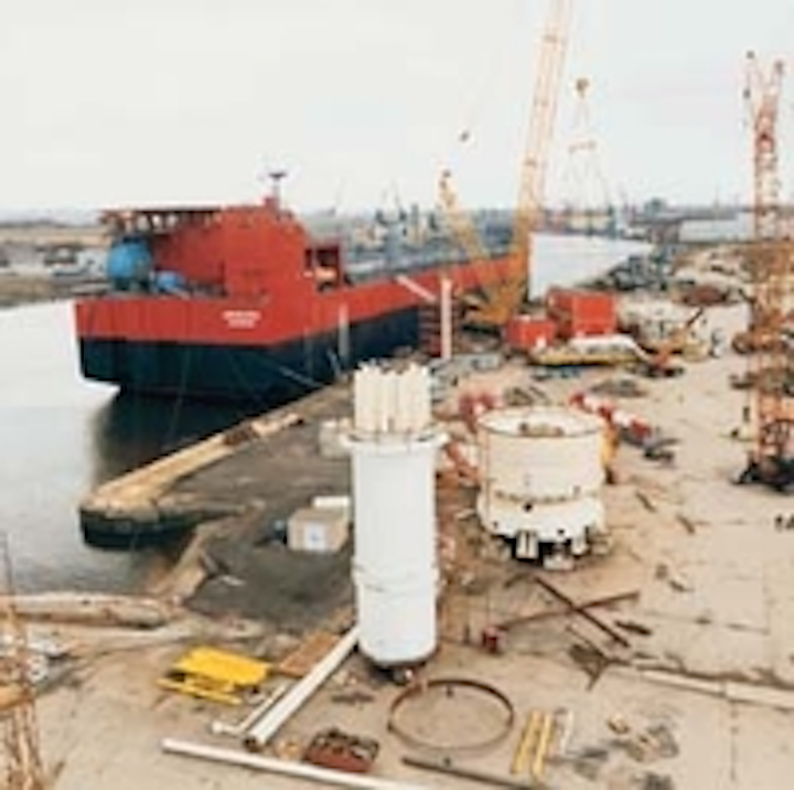 Offshore Northern Europe Shell Chooses Floating Units For