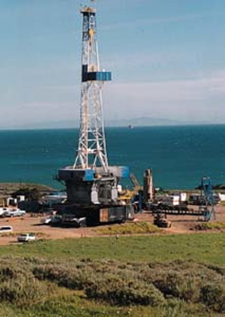 Offshore environmental concerns mitigated by onshore-based