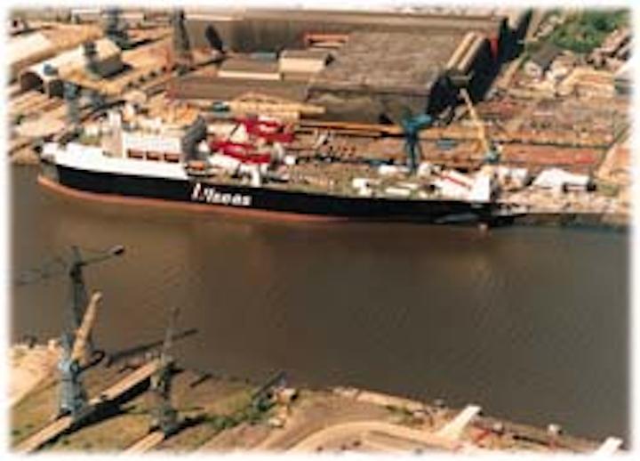 Major deepwater pipelay vessel starts work in North Sea