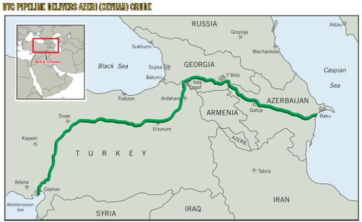 GUIDE TO WORLD CRUDES: BP issues assay for Azeri crude