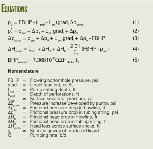 Nodal analysis indentifies ESP wellhead choke problems   Oil