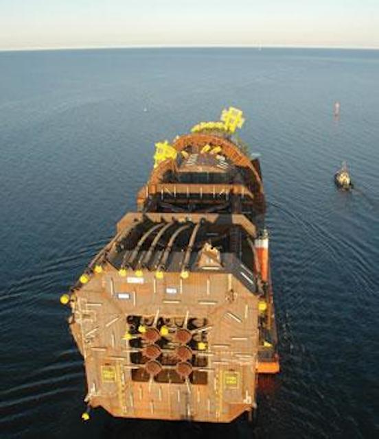 Shell installs world's deepest production spar at Perdido | Oil