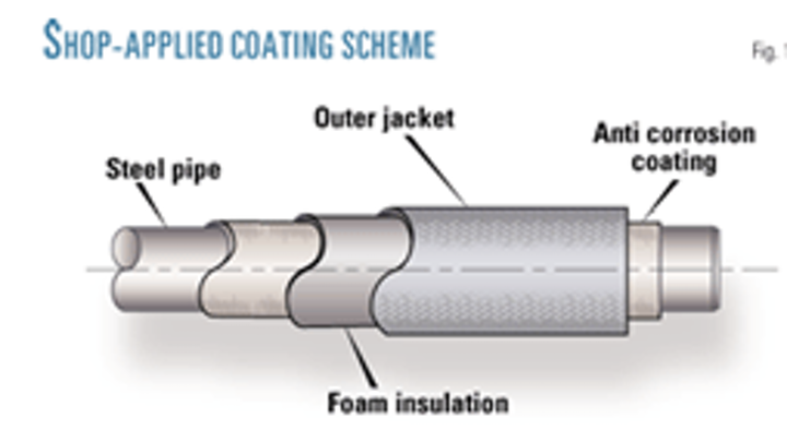 High-temp , insulated coating aids construction of Alberta