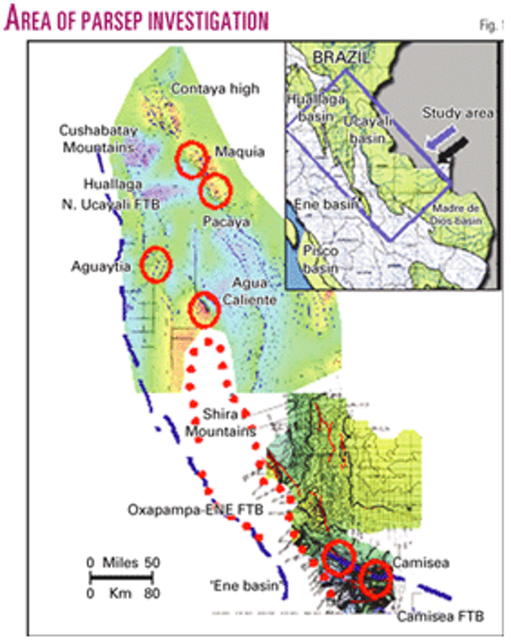 Reevaluation defines attractive areas in Peru's Ucayali-Ene basin