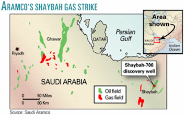 Aramco finds new gas reservoir in Shaybah field | Oil & Gas