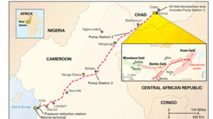 Chevron Texaco ays Doba crude | Oil & Gas Journal on