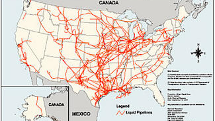 Pipeline Report Us National Mapping System Growing Adjusting To
