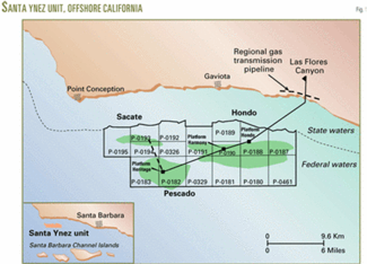 Extended-reach drilling develops Sacate field, offshore