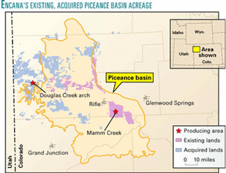 COMPANY NEWS: EnCana buys gas reserves in Colorado Rocky