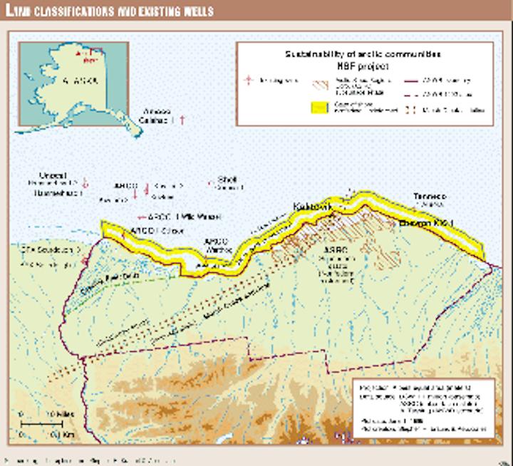 Drainage pierces ANWR in Alaska study scenario   Oil & Gas Journal