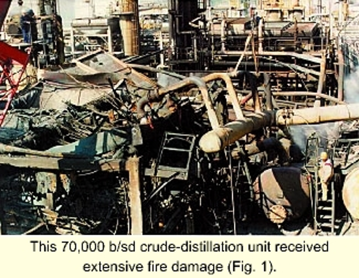Fire-damage assessment cuts reconstruction cost, plant