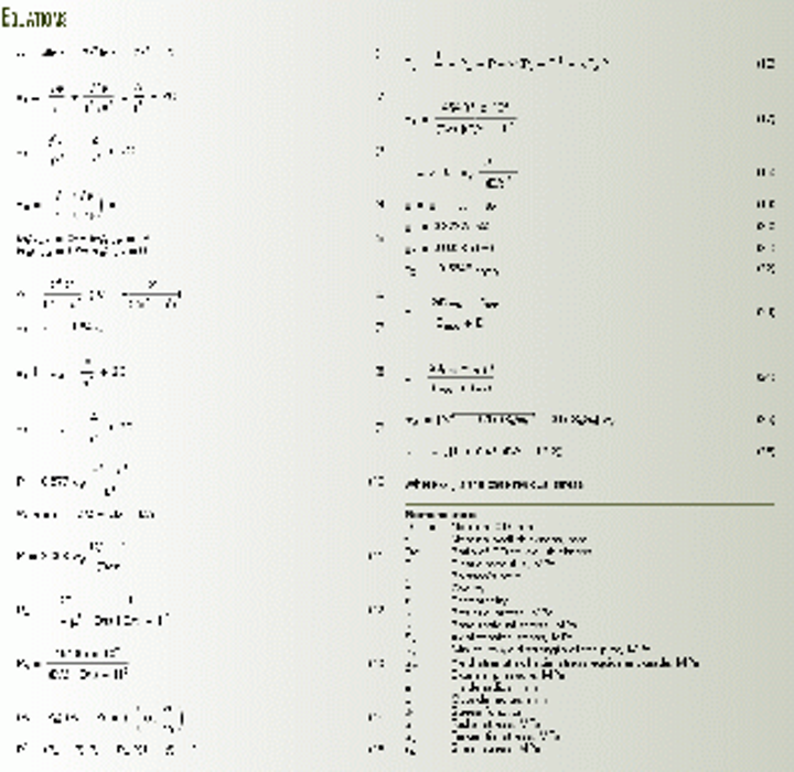 Equations calculate collapse pressures for casing strings