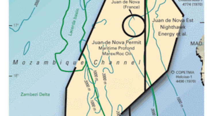 France awards permits in Mozambique Channel | Oil & Gas Journal on