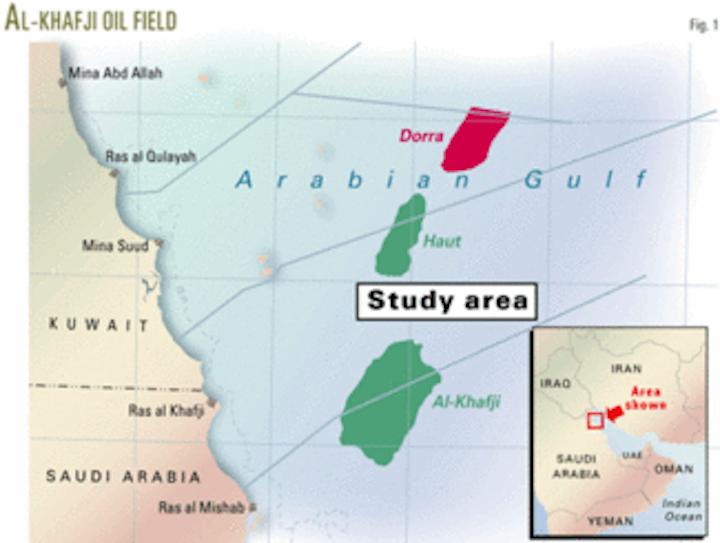 3D seismic data predict Al-Khafji reservoir attributes   Oil