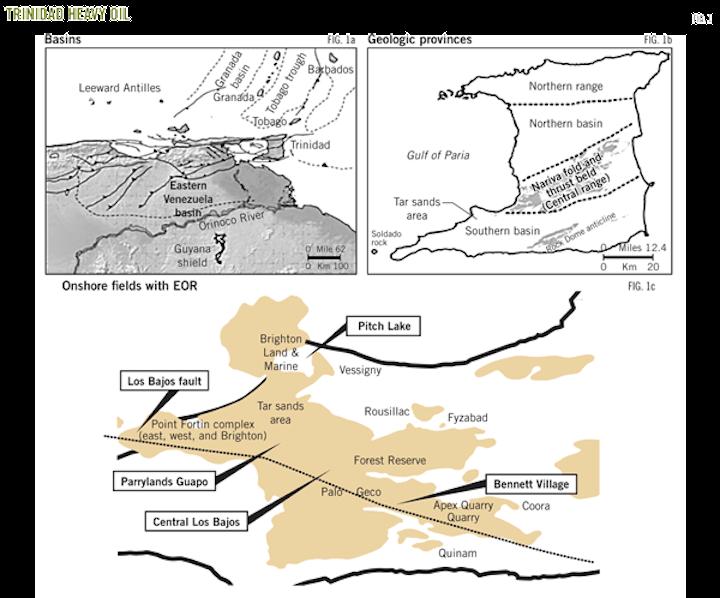 TRINIDAD EOR—1: More than 1 billion bbl of heavy oil remain