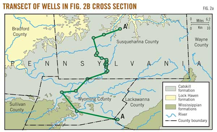P  3 ~ Continued - Methane in Pennsylvania water wells