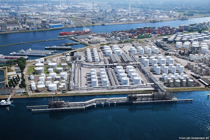 LBC Tank Terminals expands storage capacity at Port of Rotterdam
