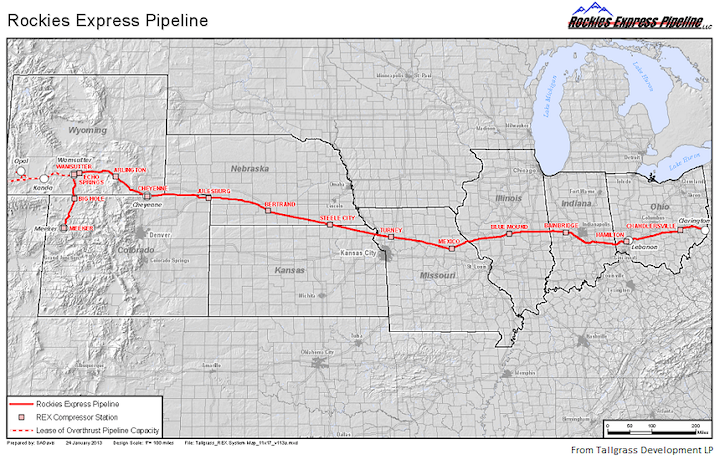 Content Dam Ogj Online Articles 2016 03 Rockies Express Pipeline Map