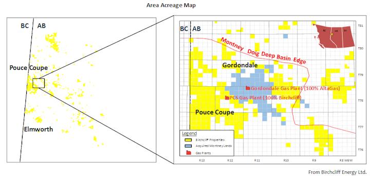 Content Dam Ogj Online Articles 2016 06 Birchcliff Gordondale Map