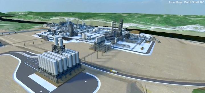 Content Dam Ogj Online Articles 2016 06 Shell Fid Pennsylvania Petrochemicals Complex Artistic Impression Future