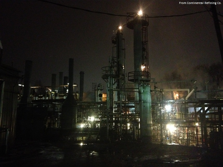 Continental Somerset refinery