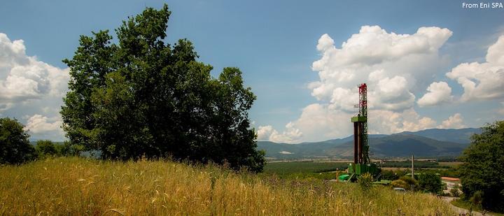 Eni Val d'Agri field