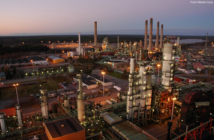 Neste Porvoo refinery