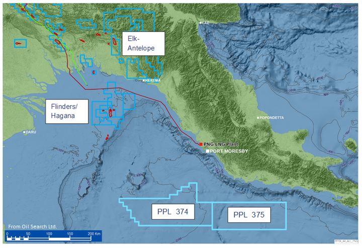 Content Dam Ogj Online Articles 2016 09 Oil Search Png Map