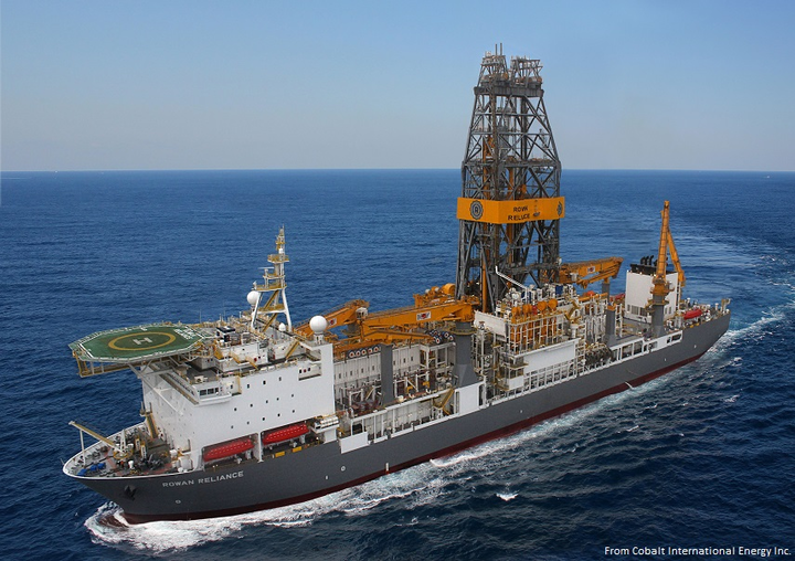 Rowan Reliance drillship