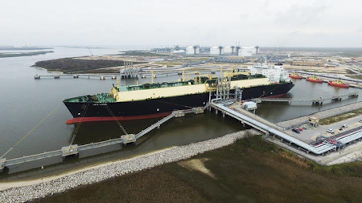 Cheniere Sabine Pass First Cargo