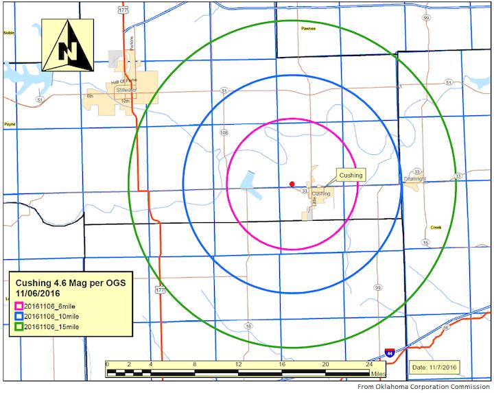 Content Dam Ogj Online Articles 2016 11 Occ Cushing Earthquake Map