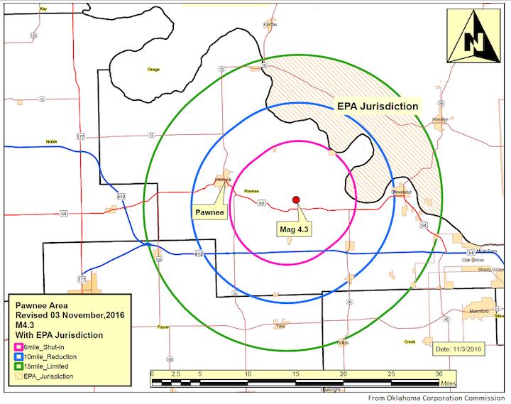 Content Dam Ogj Online Articles 2016 11 Oklahoma Earthquake Map