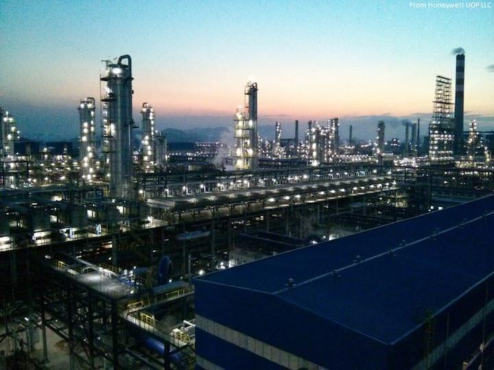 Content Dam Ogj Online Articles 2017 02 Honeywell Uop Llc Zhejiang Petrochemical Co Ltd