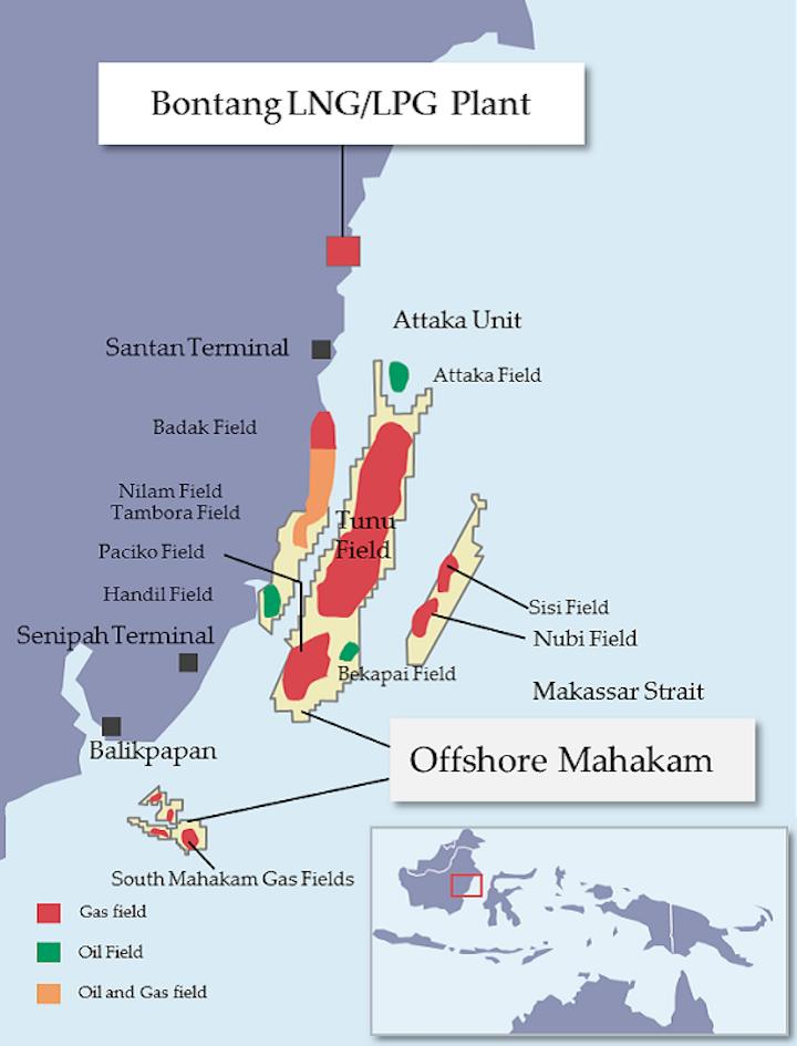 Content Dam Ogj Online Articles 2017 03 Mahakam Block Offshore Indonesia Map