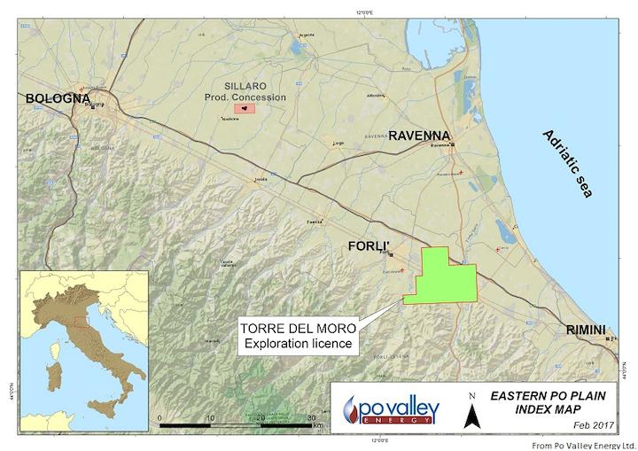Content Dam Ogj Online Articles 2017 03 Po Valley S Torre Del Moro Oil Licence Map