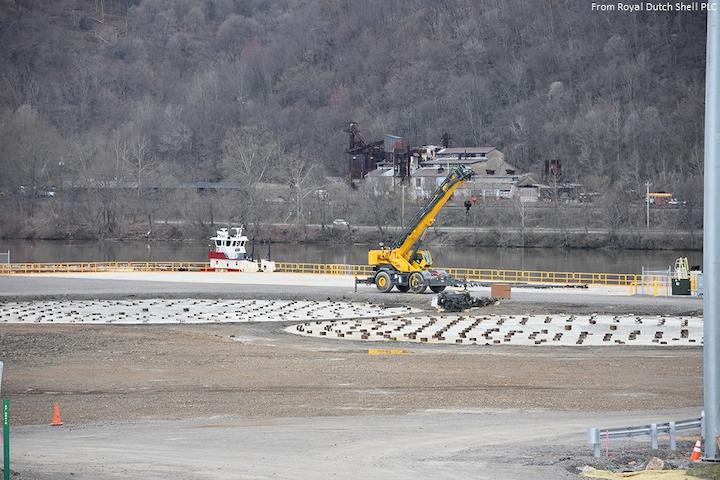Content Dam Ogj Online Articles 2017 04 Royal Dutch Shell Plc Appalachian Petrochemical Complex Site Preparations