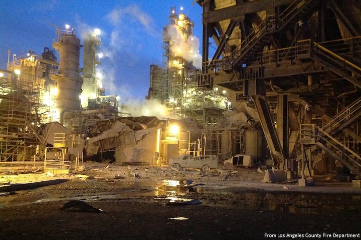 Content Dam Ogj Online Articles 2017 05 Exxon Torrance Refinery Explosion