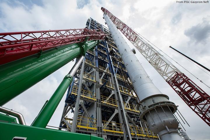 Gazprom Neft advances Moscow refinery modernization project