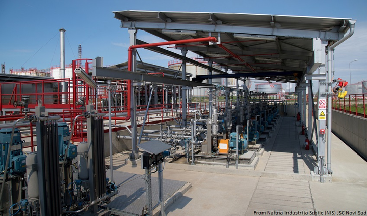 Content Dam Ogj Online Articles 2017 06 Naftna Industrija Srbije Nis Jsc Novi Sad Inline Petrol Blending System At Pancevo Oil Refinery