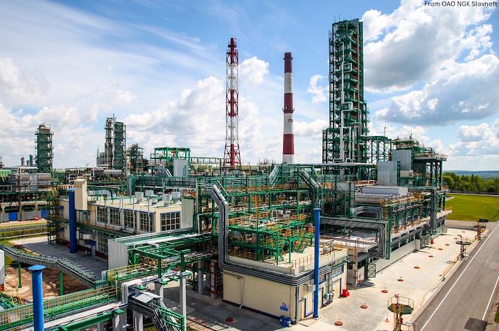 Content Dam Ogj Online Articles 2017 06 Oao Ngk Slavneft Group Iii Base Oils Production Unit