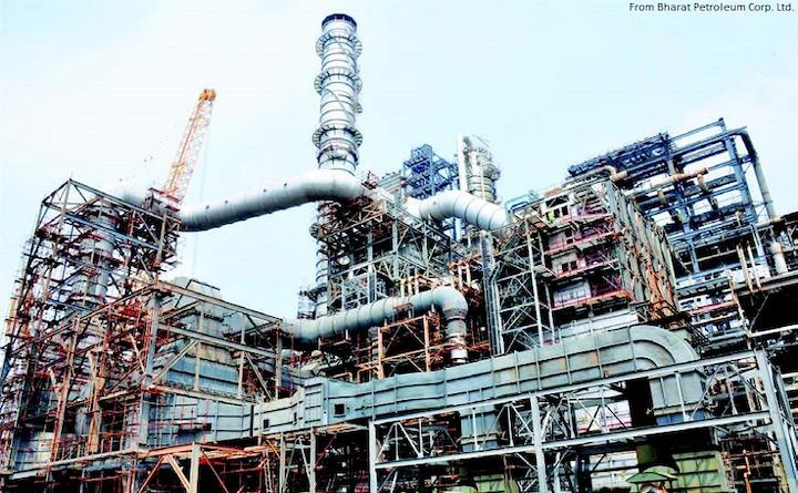 Content Dam Ogj Online Articles 2017 07 Bharat Petroleum Corp Ltd Kochi Irep Crude Vacuum Distillation Unit