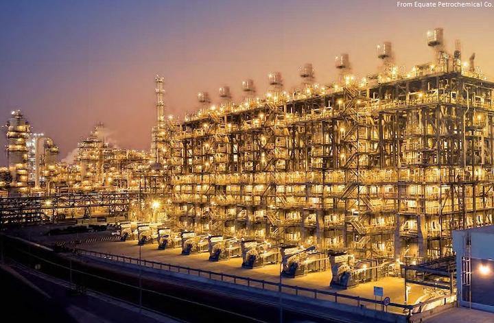 Equate Petrochemical shutters Shuaiba ethylene unit | Oil