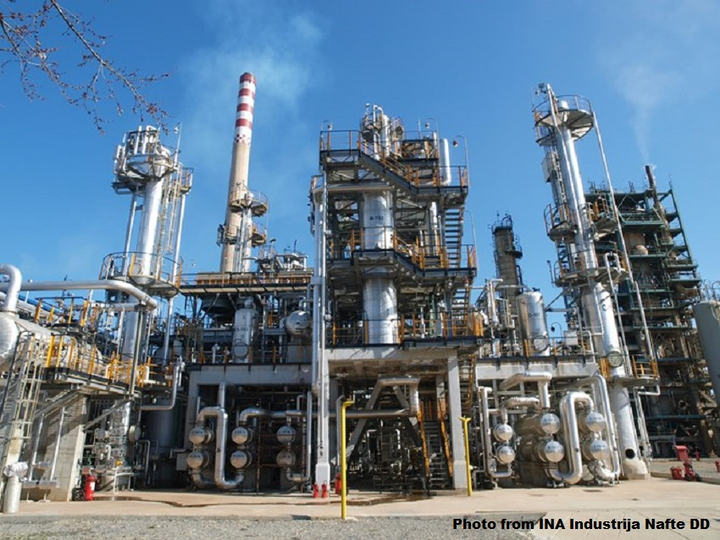 Croatia's INA weighs shutdown of Sisak refinery's FCC plant   Oil