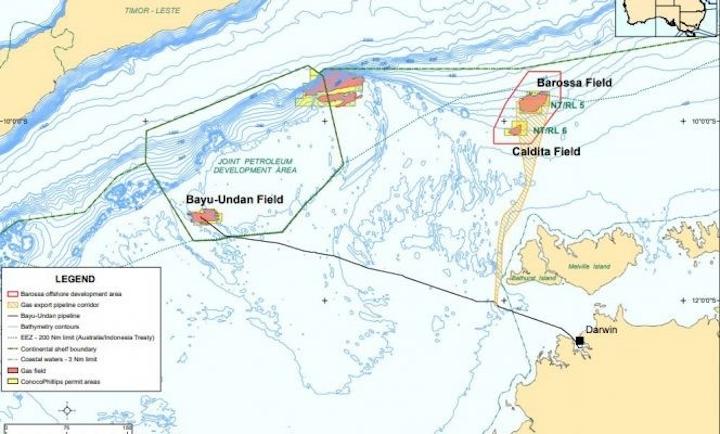 Barossa gas field enters FEED development program | Oil & Gas Journal