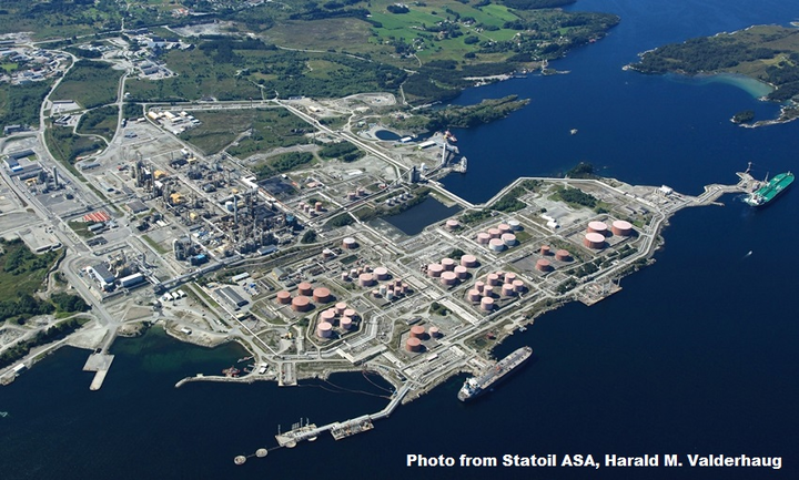 Statoil lets contract for Mongstad refinery | Oil & Gas Journal
