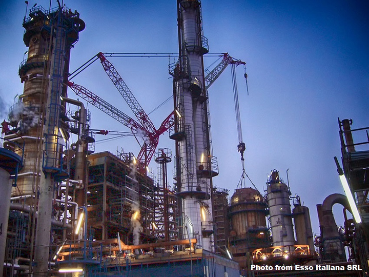 Sonatrach inks deal for ExxonMobil's Italian refinery