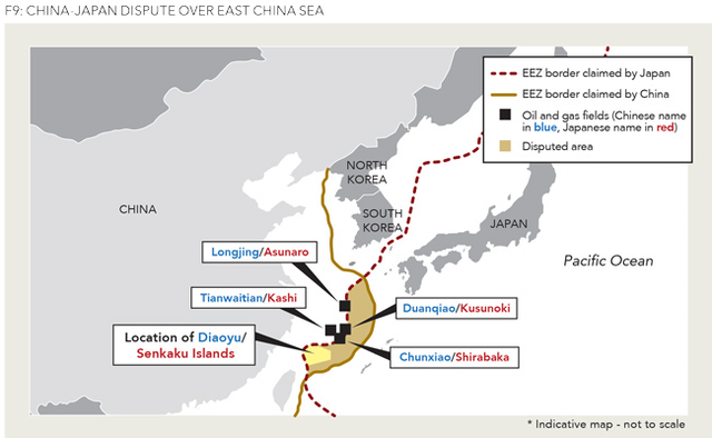 China, Japan clash over East China Sea | Oil & Gas Journal