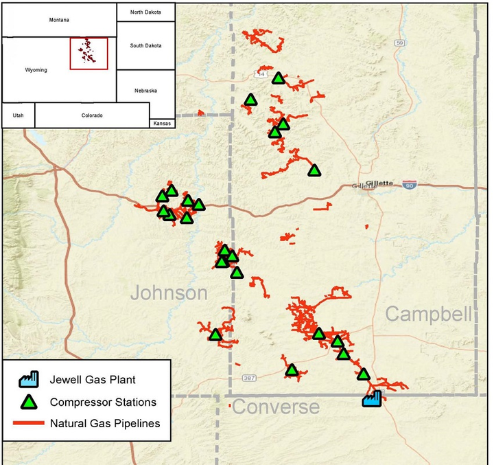 Powder River basin due gas processing plant | Oil & Gas Journal