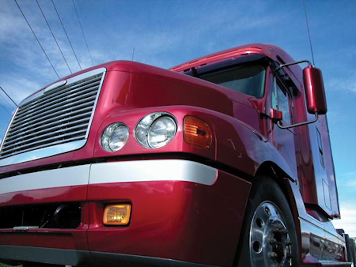 Fev Red Truck Image